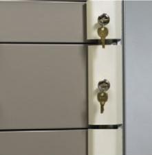 Key Lock Bars Locking Option