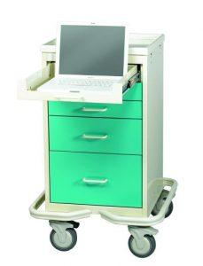 Mini Tower Computer Cart