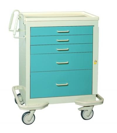 ER Crash Carts (Standard 5 Drawer)
