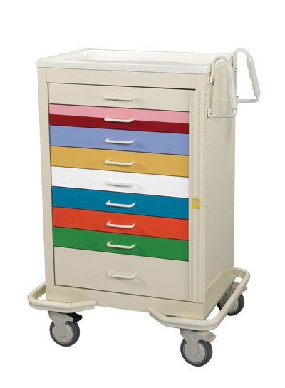 ER Crash Carts (Standard 9 Drawer)
