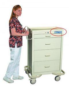 Anesthesia Carts (4 Drawer Electronic Lock)