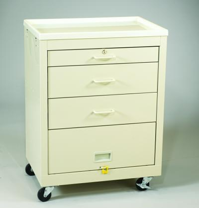 Value Medical Carts - 3 Drawer (MVP-324P-B)