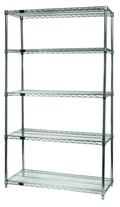 5 SHELF STATIONARY RACK