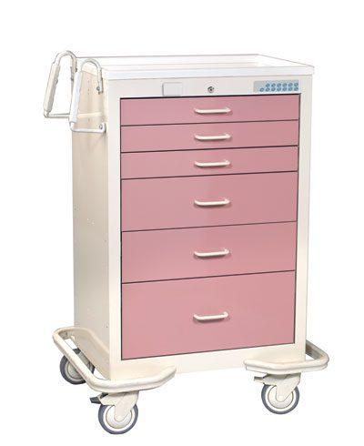 Anesthesia Carts (6 Drawer Electronic Lock MXT-630-M)