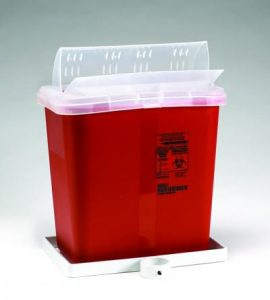 Phlebotomy Cart Accessories - Sharps Container