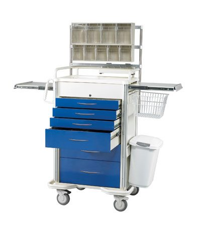 Medical Cart Accessories - SELECT (SAP-A) Anesthesia Cart Accessories