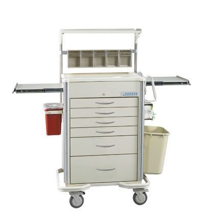 Medical Cart Accessories - SELECT (SAP-B) Anesthesia Cart Accessories