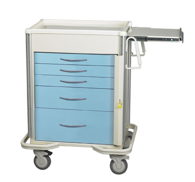ER Crash Carts (SELECT 5 Drawer SBT-524A-SB)
