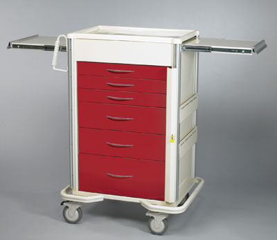ER Crash Carts (SELECT 6 Drawer SBT-630A-R)