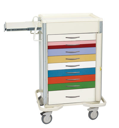 ER Crash Carts (SELECT 9 Drawer SBT-930A-PED)