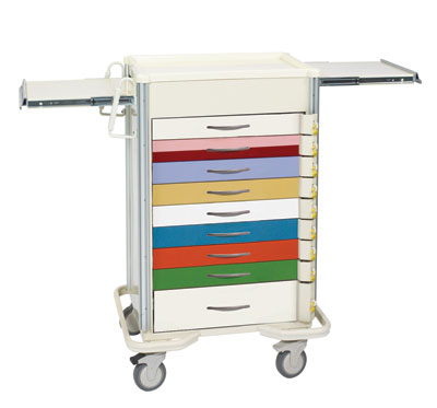 ER Crash Carts (SELECT 9 Drawer SBT-9BA-PED)