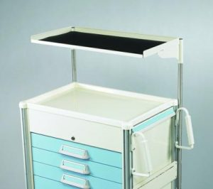 Medical Cart Accessories - Shelving - Deep Single Shelf