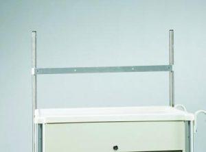 Medical Cart Accessories - SELECT - Trellis Bar