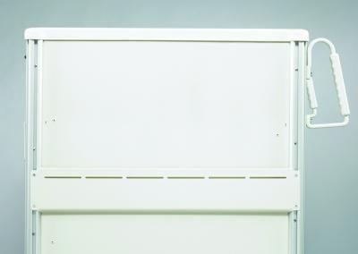 Medical Cart Accessories - Back Hanger Panel
