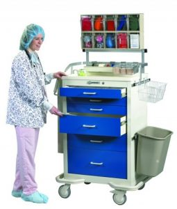 Medical Cart Accessories - Standard (TAP-A) Anesthesia Cart Accessories