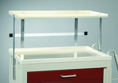 Medical Cart Accessories - Shelving - Shelf Unit Single