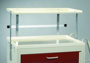 Medical Cart Accessories - Shelving - Mini Shelf Unit