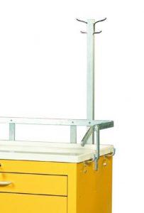 Medical Cart Accessories - Coat Rack