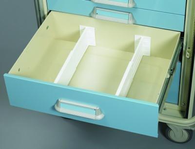 Medical Cart Accessories - Drawer Divider Kit