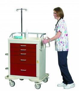 Medical Cart Accessories - Standard (TEP-C) Emergency Cart Accessories