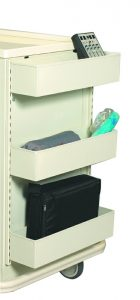 """Medical Cart Accessories - Standard - Fluid Tray System 30"""""""