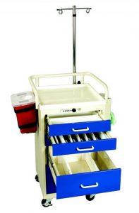 Mini Medical Cart Accessories - Mini Anesthesia Cart Accessories