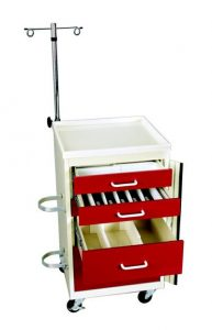 Mini Medical Cart Accessories - Mini Emergency Cart Accessories