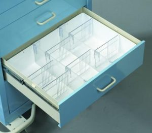 Medical Cart Accessories - Full Drawer Trays (TMH-6)