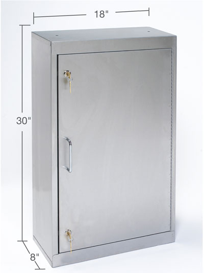 Narcotic Storage Cabinets Key Lock Tnc 2ss