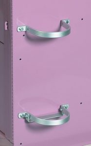 Medical Cart Accessories - Oxygen Tank Bracket