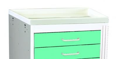 Medical Cart Accessories - Plastic Top Standard (TPT-2)