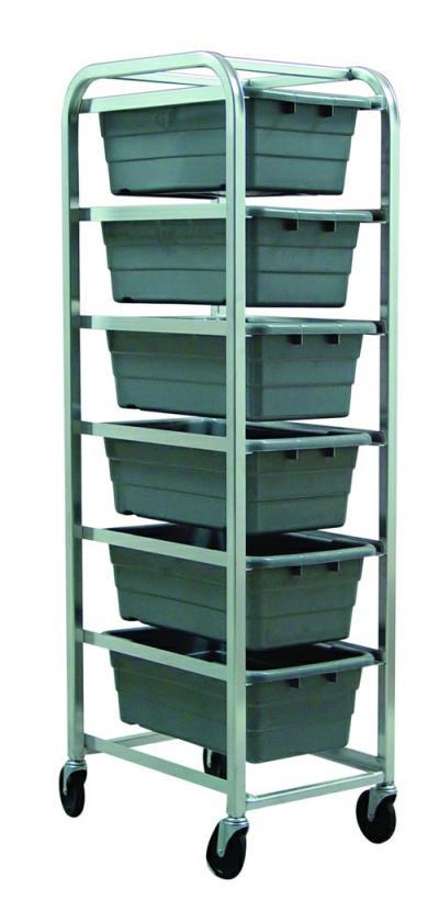 Wire Storage6 Drawer Tub Rack TR-6 - MPD Medical Systems