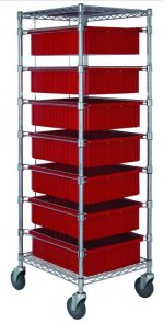 7 Drawer Tub Rack