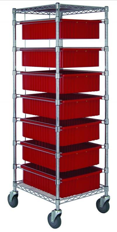 7 Drawer Tub Rack