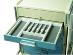 Medical Cart Accessories - Expandable Drawer Trays (TRY-4)