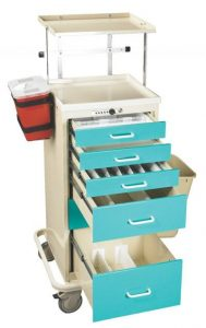 Anesthesia Cart Accessories (Mini TTA-PK) - Medical Equipment Carts