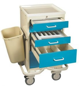 Anesthesia Cart Accessories (Mini TTV-PK) - Medical Equipment Carts