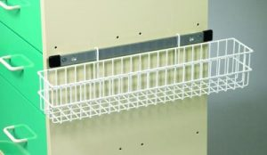 Medical Cart Accessories - Catheter Wire Basket