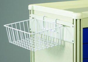 Medical Cart Accessories - Wire Basket TWB-12