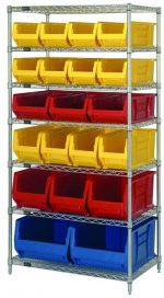 7 Shelf Stationary Rack
