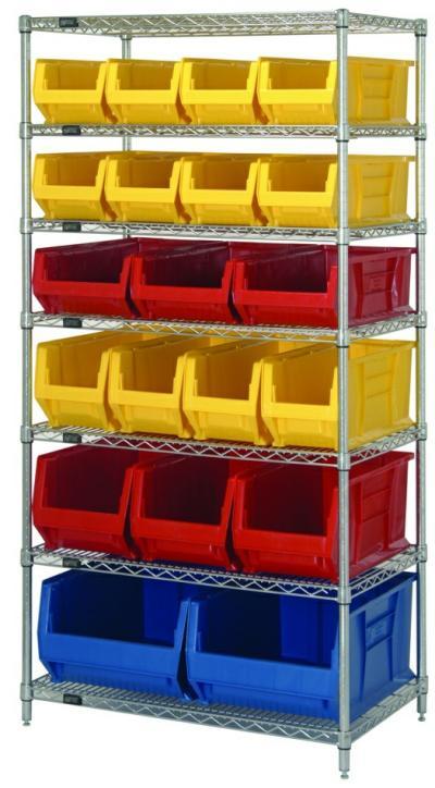 7 Shelf Stationary Rack