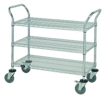 Wire Utility Cart - 3 Shelf